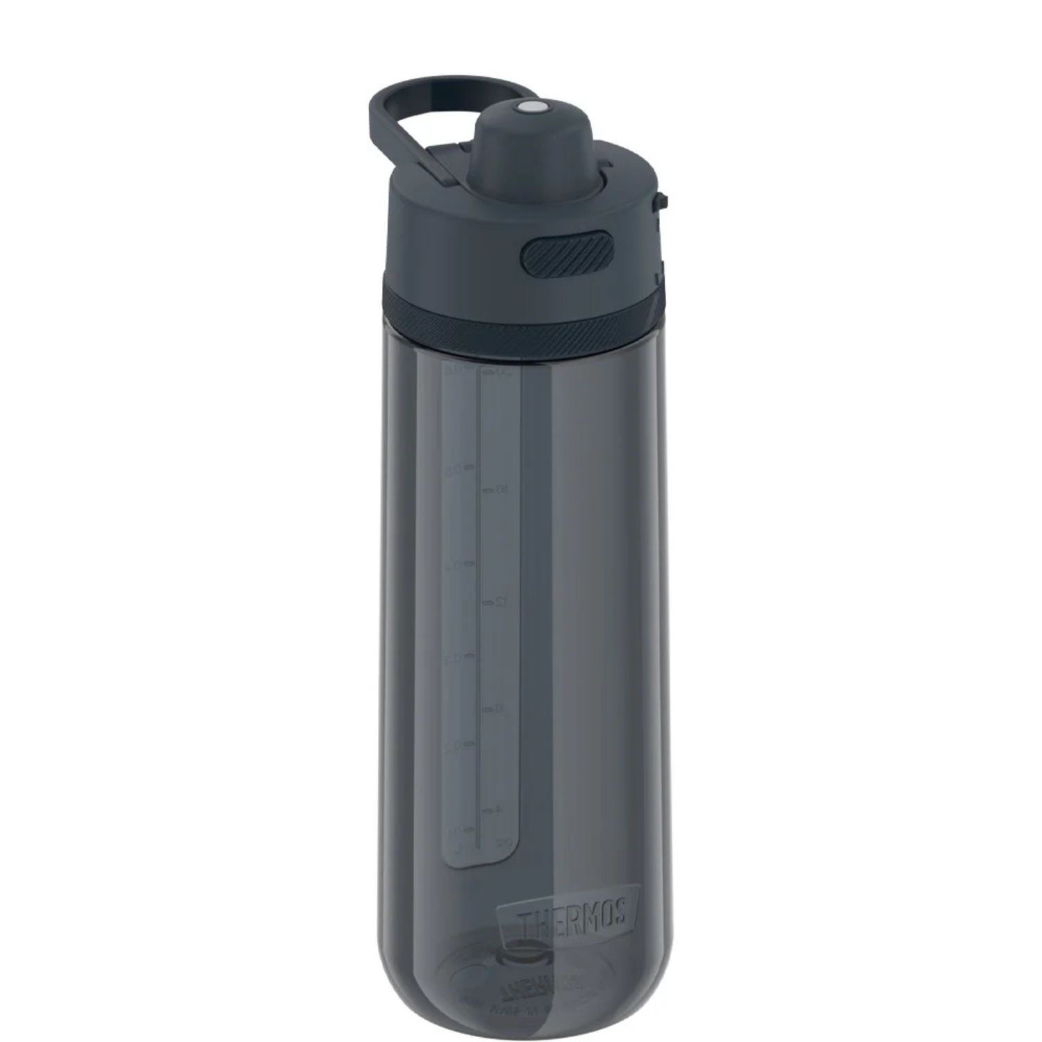 Thermos 24 oz Hard Plastic Hydration Bottle w Spout Blue