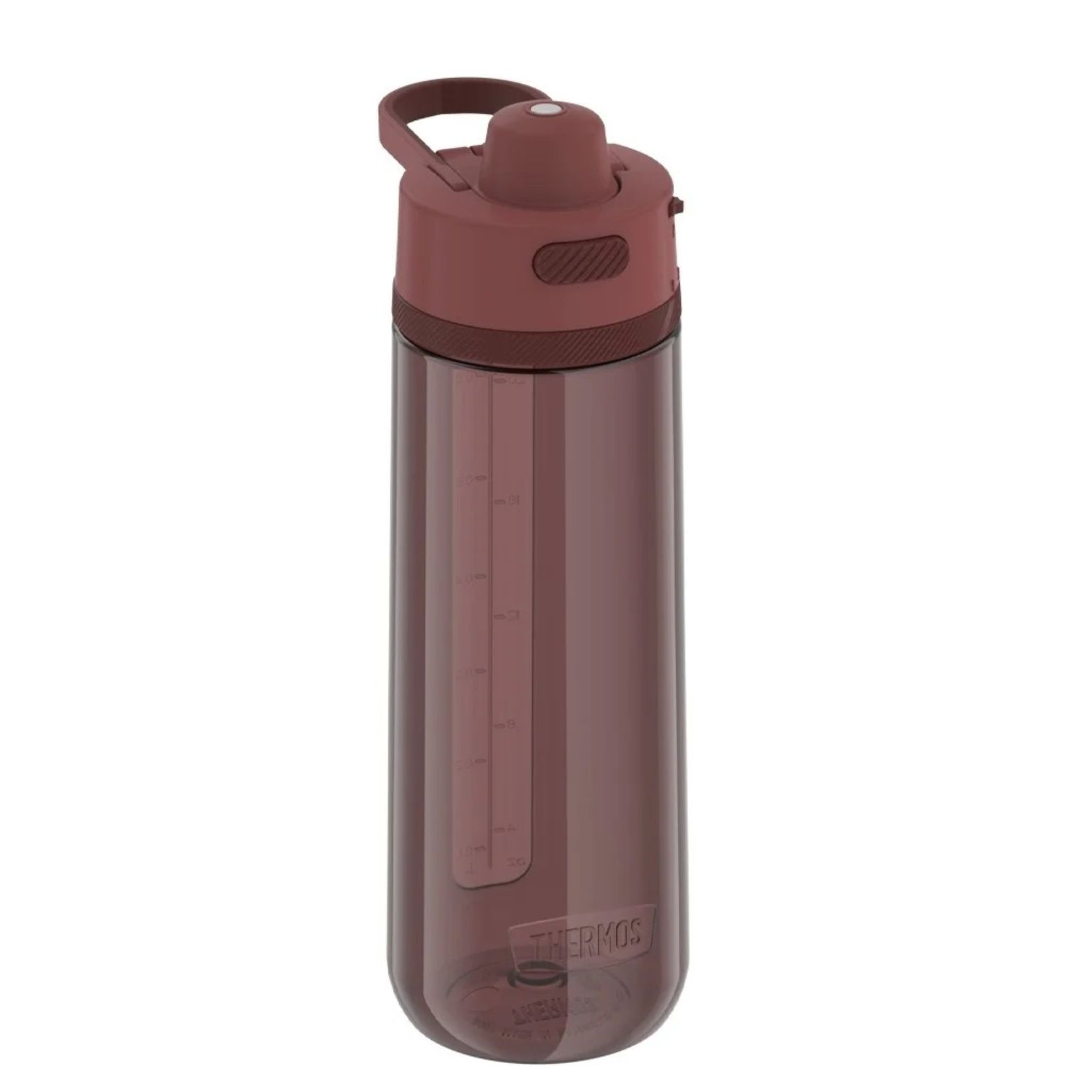 Thermos 24 oz Hard Plastic Hydration Bottle w Spout Red
