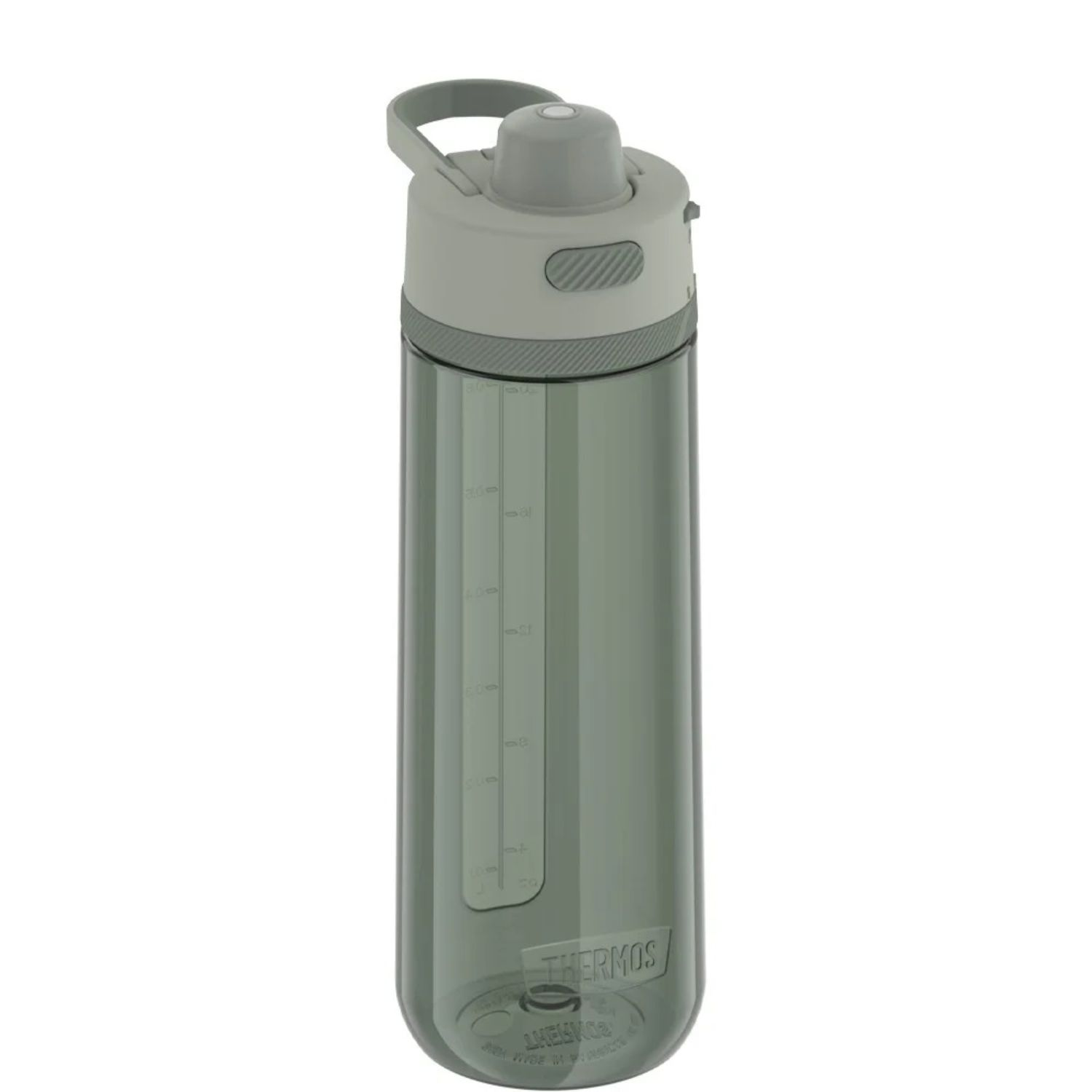 Thermos 24 oz Hard Plastic Hydration Bottle w Spout Green