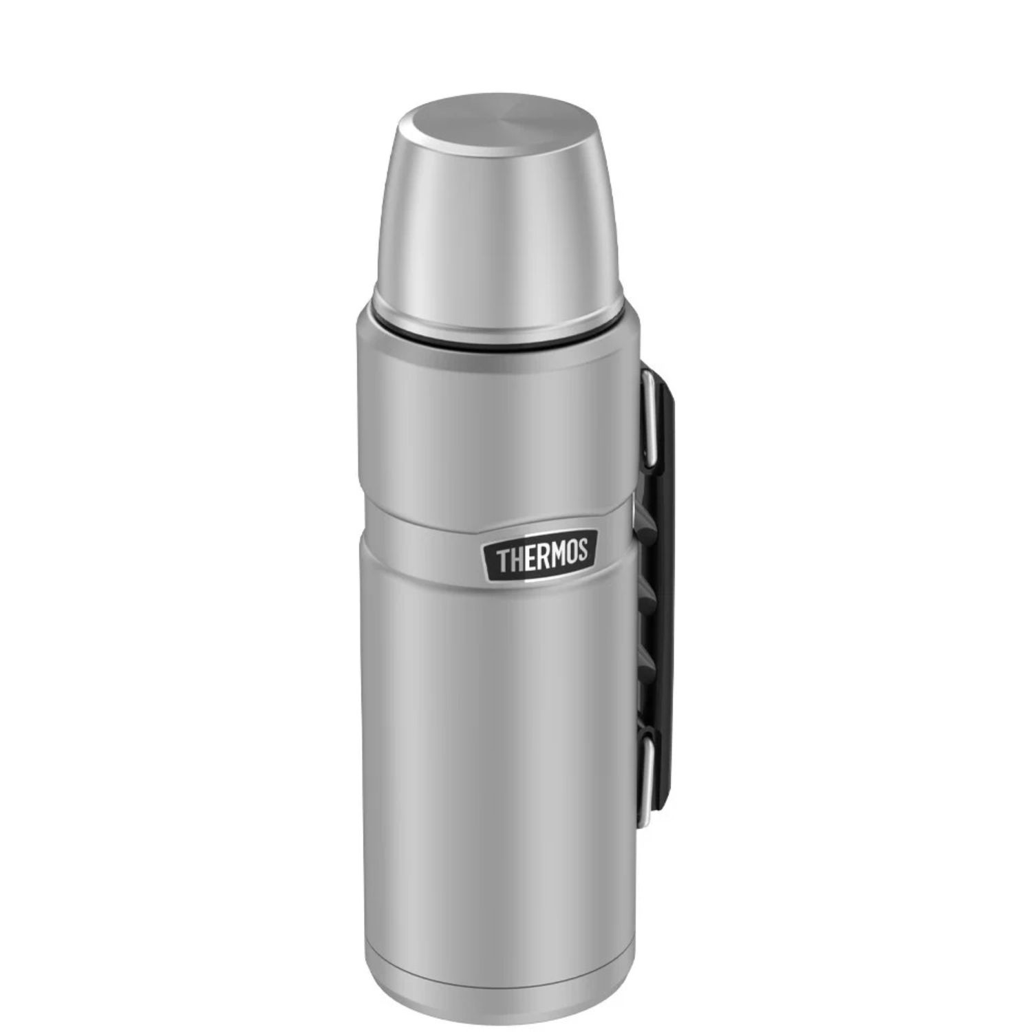 Thermos 40 oz Stainless Steel Beverage Bottle Silver