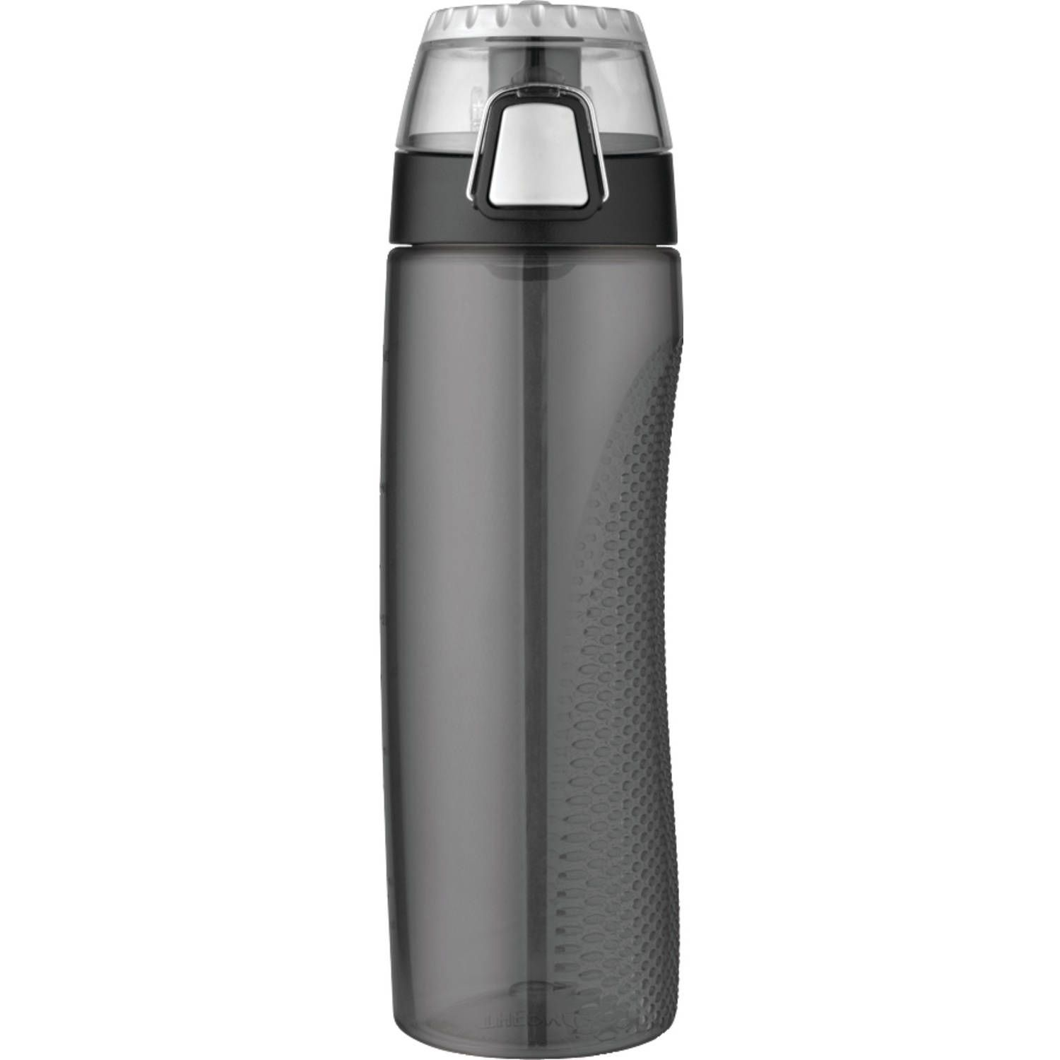 Thermos 24 oz BPA Free Hydration Bottle w Meter Grey
