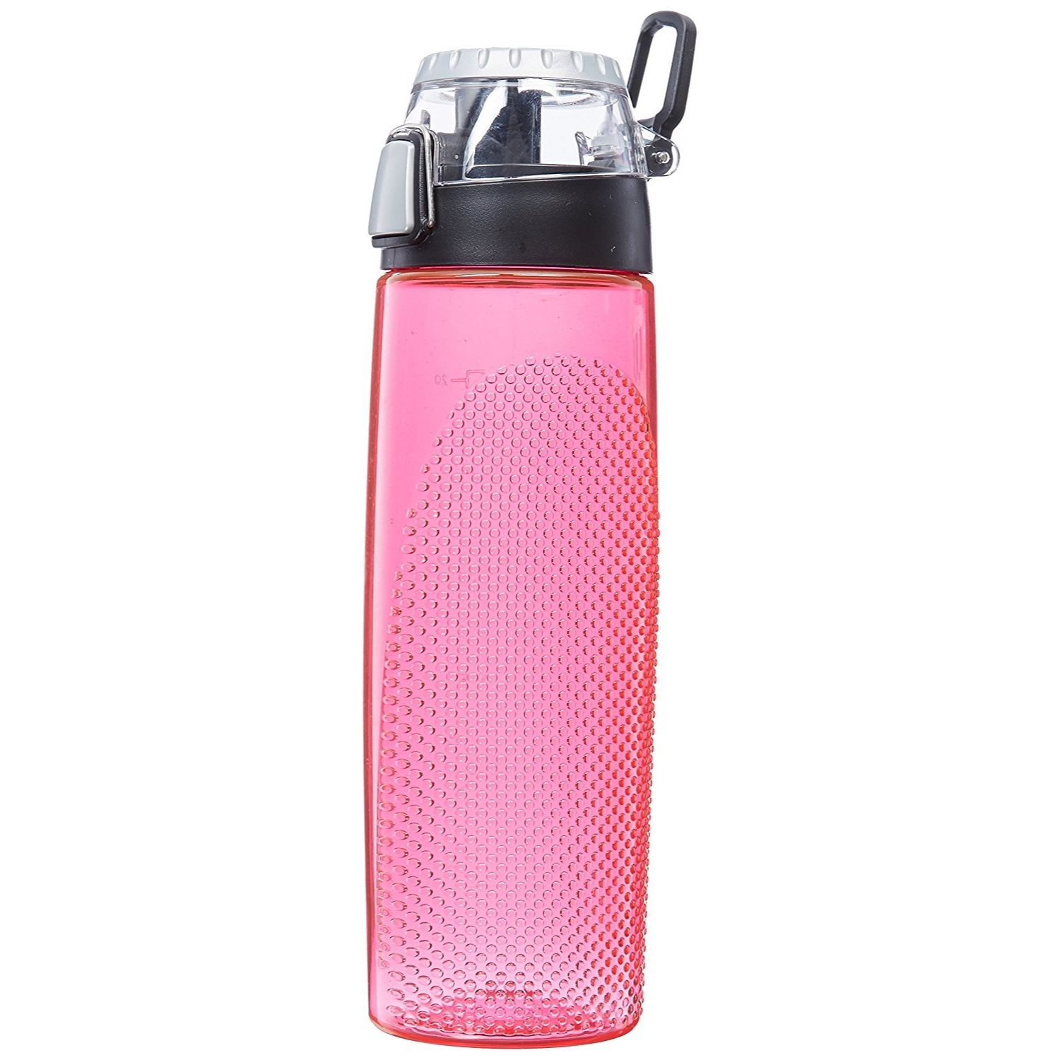 Thermos 24 oz BPA Free Plastic Hydration Bottle w Meter Pink