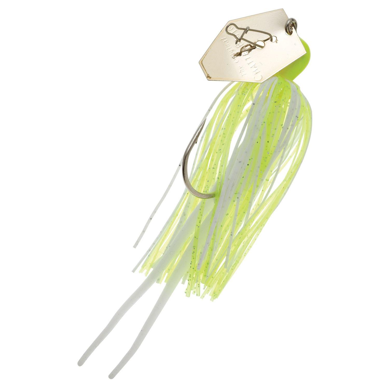 Zman Chatterbait 0.375 Oz-Chartreuse White Gold Blade