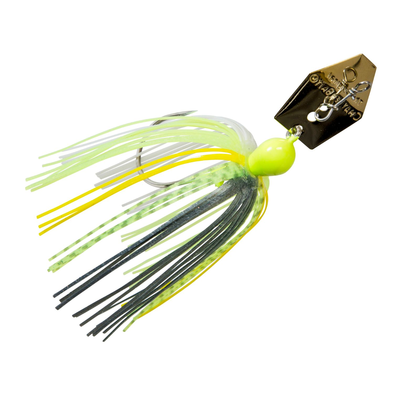 Zman Chatterbait 0.375 Oz-Chartreuse Sexy Shad