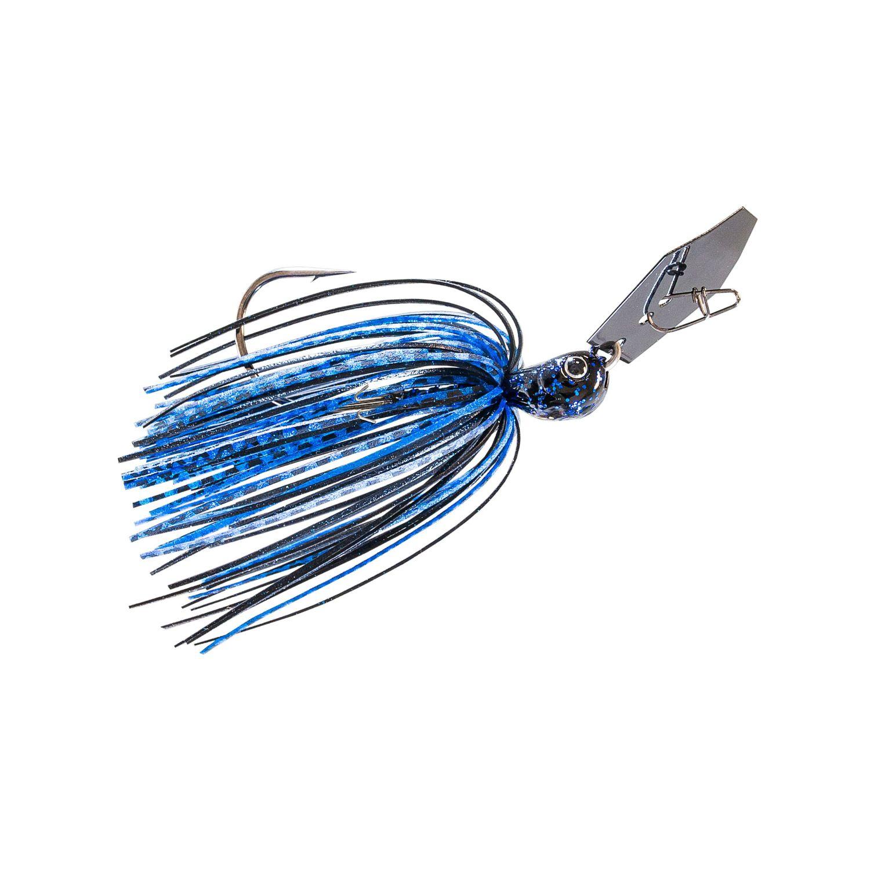 Zman Chatterbait Jackhammer 0.375 Oz-Black Blue